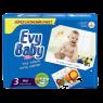 """Evy Baby Bebek Bezi Kremli Jumbo Midi Paket 54""""lu"""