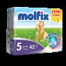 Molfix 7/24 Koruma Jumbo Paket Maxi Plus Bebek Bezi 42 Ped