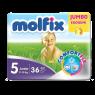 Molfix 7.24 Koruma Jumbo Paket Junior Bebek Bezi 36 li