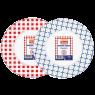 Piknik 1495  Karton Tabak Büyük 10'lu