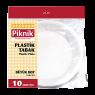 Piknik 1492  Plastik Tabak Büyük 10'lu