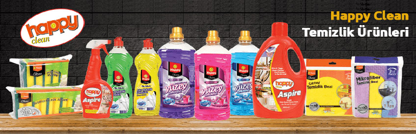Happy Clean Temizlik Ürünleri