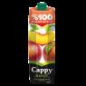 Cappy %100 Elma - Şeftali Aromalı Meyve Suyu 1 lt
