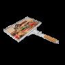 Kor Ağaç Saplı Kafesli Izgara 31x42 cm