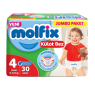 Molfix Çocuk Bezi Pants Maxi Jumbo 30 Lı