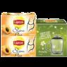 Lipton Çay 2 Lİ Kayısılı 60 Gr Defne Koz bardak hediyeli