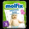 Molfix Bebek Bakım Örtüsü 10 LU
