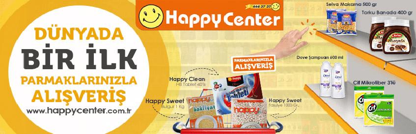 Happy Center Parmaklarınızla Alışveriş