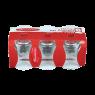 Paşabahçe İnce Belli Optikli Çay Bardağı 6 Adet