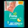 Prima Bebek Bezi Aktif Bebek 3 Beden Midi Dev Ekonomi Paketi 72 Adet