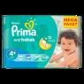 Prima Bebek Bezi Aktif Bebek 4+ Beden Maxi Plus Mega Paket 34 Adet