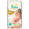 Prima Bebek Bezi Premium Care 1 Beden Yenidogan Ekonomi Paketi 54 Adet
