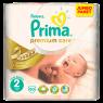 "Prima Bebek Bezi Premium Care Mega Paket Junior Jumbo No:2 (3 - 6 kg) 10""lu"