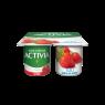 Danone Activia Yoğurt Çilek-Keten Toh 4*100 Gr