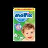 Molfix Cocuk Bezi 3D Maxi Ultra Avantaj Paket136 lı